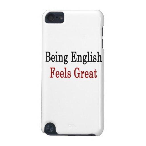 El ser inglés siente grande