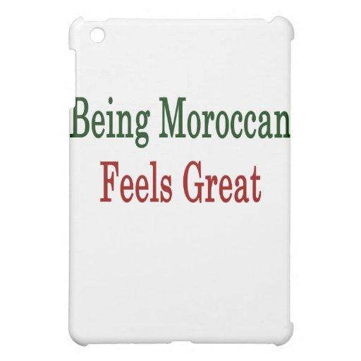 El ser marroquí siente grande