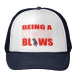 El ser salvavidas sopla gorras