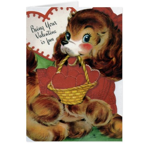 El ser su tarjeta del día de San Valentín es diver