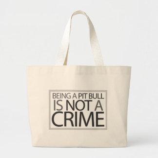 El ser un pitbull no es un crimen bolsa
