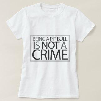 El ser un pitbull no es un crimen poleras