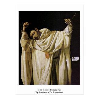 El Serapius bendecido de Zurbaran De Francisco Tarjetas Postales