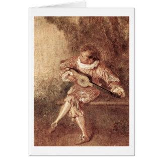 El Serenata de Antoine Watteau Felicitación