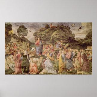 El sermón de la montaña, del Sistine Poster