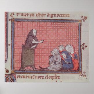 El sermón, de Ovide Moralise Poster