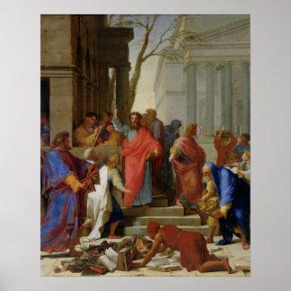 El sermón de San Pablo en Ephesus, 1649 Posters
