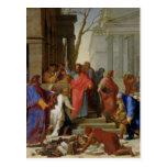El sermón de San Pablo en Ephesus, 1649 Tarjetas Postales