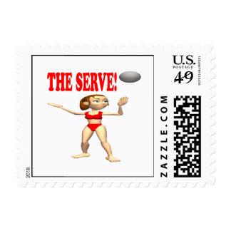 El servicio 4 timbres postales