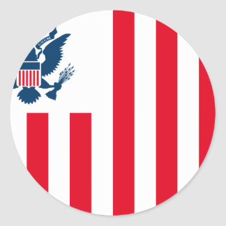 El servicio de aduanas de Estados Unidos, Estados  Pegatinas