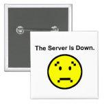 El servidor está abajo pin cuadrado