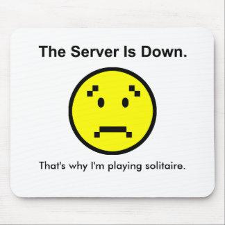 El servidor está abajo alfombrilla de raton