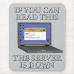 El servidor está abajo tapetes de ratón