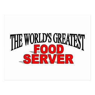 El servidor más grande de la comida del mundo postal