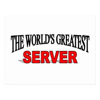 El servidor más grande del mundo postales