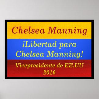 El servir de Chelsea - Vicepresidente EE UU 2016 Impresiones