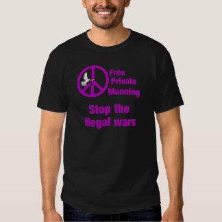 El servir privado libre camisas