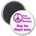 El servir privado libre imán