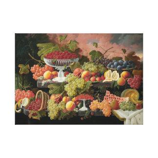 el severin de la vida de la cosecha de la fruta impresiones de lienzo