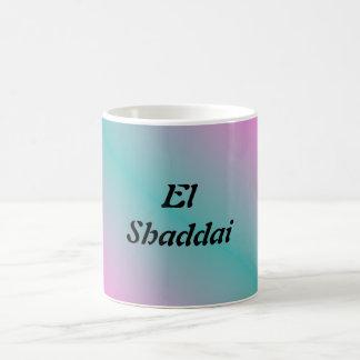 EL Shaddai - todo suficiente Taza