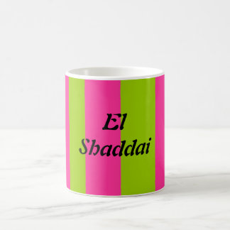 EL Shaddai - todo suficiente Taza Clásica