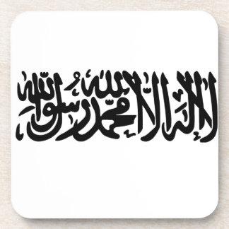 El Shahada islámico Posavasos