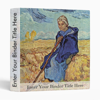 El Shepherdess de Vincent van Gogh