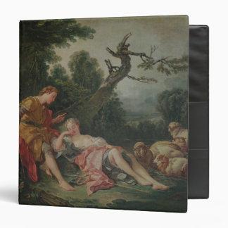"""El Shepherdess durmiente Carpeta 1 1/2"""""""