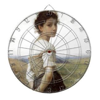 El Shepherdess joven - la chica joven Tabla Dardos