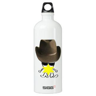 el sheriff botella de agua