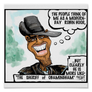 El sheriff de Obamingham Poster