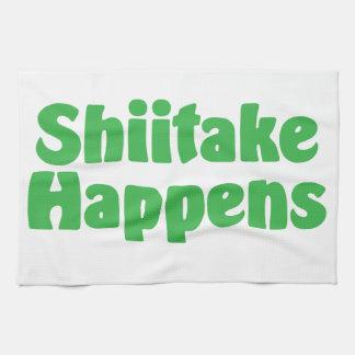 El Shiitake sucede toalla de cocina
