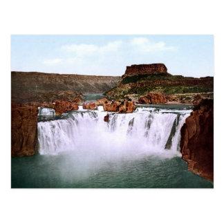 El Shoshone se cae el río Snake Idaho Tarjetas Postales