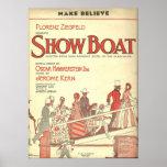 el showboat hace para creer impresiones