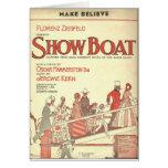 el showboat hace para creer tarjeton