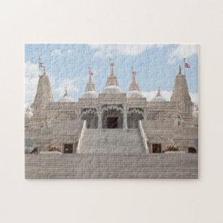 El Shri Swaminarayan Mandir Rompecabezas Con Fotos