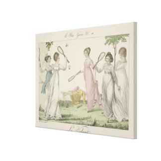 "El Shuttlecock, platea 11 de ""Le Bon Genre"", 180 Impresión En Lona Estirada"