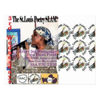 El shwag del golpe de la poesía de St. Louis Postal