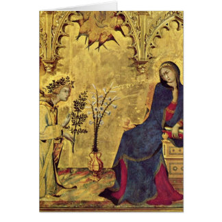 El siglo XIII del anuncio Tarjeta De Felicitación