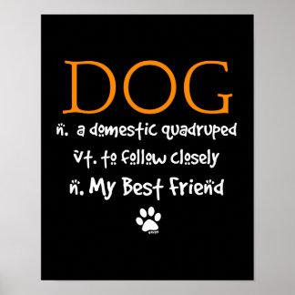 El significado del perro posters