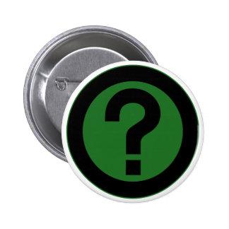 El signo de interrogación pide la puntuación del pin redondo de 2 pulgadas