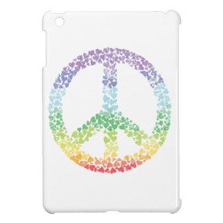 El signo de la paz del corazón apena iPad mini coberturas