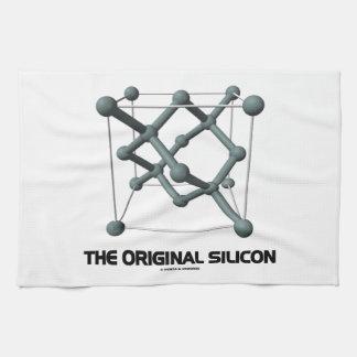 El silicio original (estructura química del silici toallas de cocina