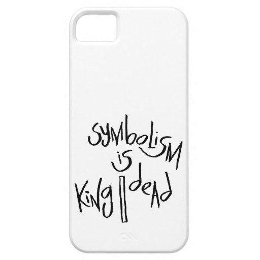 El simbolismo es rey/muerto iPhone 5 cobertura