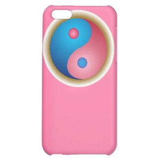 El símbolo caso del iPhone 4 de Yin y de Yang