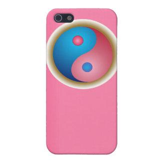 El símbolo caso del iPhone 4 de Yin y de Yang iPhone 5 Cárcasa