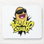 ¡El símbolo del pelotón de Brotato! Tapetes De Ratones