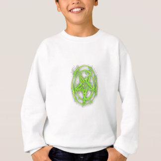 El símbolo egipcio de la buena suerte con verde sudadera
