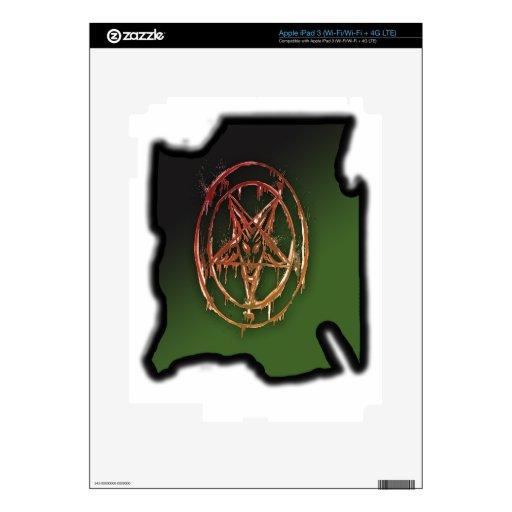 El símbolo egipcio de la buena suerte pegatinas skins para iPad 3