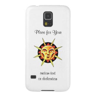 El símbolo fresco Sun del tatuaje del dibujo Carcasa Para Galaxy S5